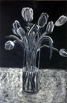 Sofia Lambiotte black tulips
